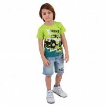 Купить футболка me&we, цвет: салатовый ( id 11950708 )