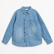 Купить рубашка coccodrillo, цвет: голубой ( id 12805666 )