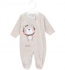 Купить комбинезон koala hello baby, цвет: бежевый/розовый v5-970