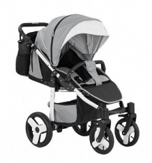 Купить прогулочная коляска camarelo elf, цвет: светло-серый меланж ( id 9608667 )