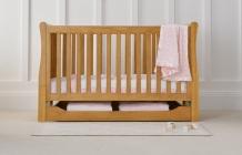 Купить кроватка mothercare marlow sleigh 140×70 см, цвет: натуральный mothercare 2513216