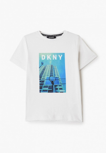 Купить футболка dkny dk001ebicha0k12y