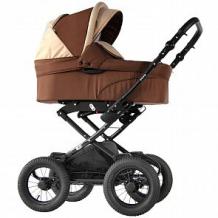 Купить коляска-люлька для новорожденного sevillababy sylvia, цвет: бежевый/коричневый ( id 10816391 )