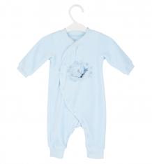 Купить комбинезон совенок я белый мишка, цвет: голубой ( id 7700143 )