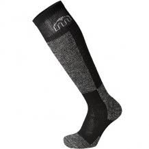 Носки высокие детские Mico Ski Sock In Wool+Polypropylene Black/Grey черный,серый ( ID 1196814 )