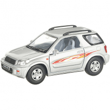 Купить коллекционная машинка serinity toys toyota rav4, серебристая ( id 13233107 )