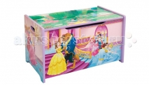 Купить disney короб для игрушек принцесса красавица и чудовище tb 87295 ps