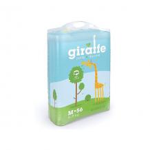 Купить трусики-подгузники lovular giraffe m 6-10 кг, 56 шт ( id 5397293 )