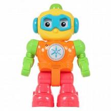 Купить развивающая игрушка zhorya друг-робот жёлтый/оранжевый/красный 13 х 5 х 23 см ( id 12053524 )