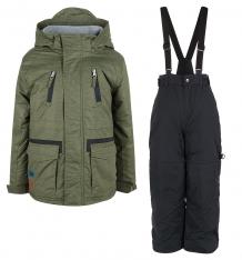 Купить комплект куртка/полукомбинезон peluche&tartine, цвет: хаки ( id 9987594 )