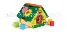 Купить деревянная игрушка oops домик-сортер o 16003