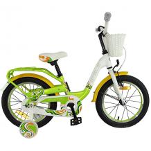 Купить двухколесный велосипед stels pilot-190 16, зелёный/жёлтый/белый 11097123