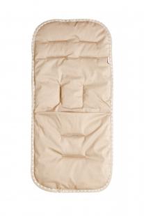 Купить хлопковый матрасик в коляску или автокресло mammie, бежевый mammie 997055087