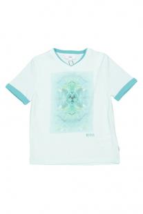 Купить футболка hugo boss ( размер: 126 8лет ), 9706222