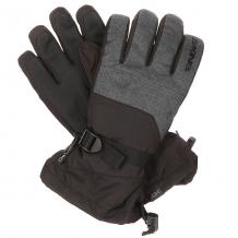 Купить перчатки сноубордические dakine frontier glove carbon черный,темно-серый ( id 1196340 )