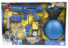 Купить игруша набор игровой полиция на батарейках i-kw17821