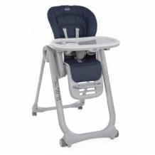 Купить стульчик для кормления chicco polly magic relax 0+ india ink, синий chicco 997028883