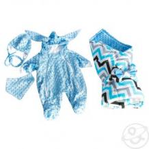 Купить комплект на выписку slingme, цвет: голубой 5 предметов ( id 11125916 )