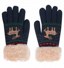 Купить перчатки bony kids, цвет: синий ( id 9805758 )