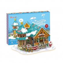 Купить cubic fun p649h кубик фан рождественский домик 3 (с подсветкой)