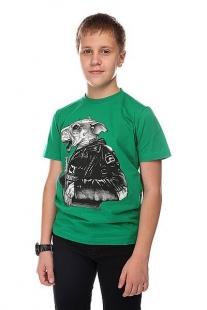 Футболка детская Globe Boys Bar Rat Tee Kelly Green зеленый ( ID 1100573 )
