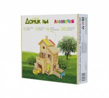 Купить конструктор лесовичок новый домик №4 les 030 les 030
