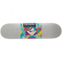 Купить дека для скейтборда для скейтборда footwork progress vice grey 31.875 x 8.125 (20.6 см) серый,мультиколор ( id 1193241 )