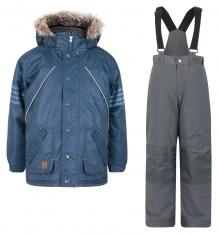 Купить комплект куртка/полукомбинезон peluche&tartine, цвет: синий ( id 6771409 )