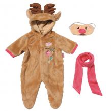 """Купить zapf creation baby annabell 701-157 бэби аннабель костюм """"северный олень"""""""
