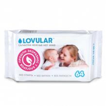 Купить влажные салфетки lovular 64 шт. lovular 996924766