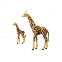 Купить конструктор playmobil зоопарк: жираф со своим детенышем жирафом 6640pm