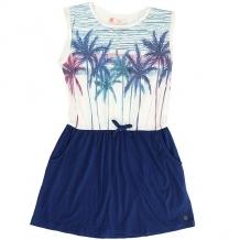 Купить платье детское roxy presidiopalm marshmellow белый,синий ( id 1169851 )