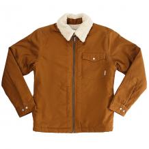 Купить куртка детская quiksilver dabeinlsyth rubber коричневый 1182841