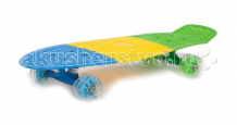"Купить moove&fun скейт пластиковый 27х8"" с колесами monster pp2708-2"