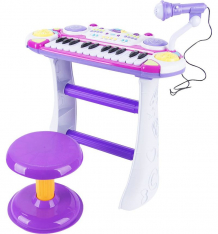 Купить пианино игруша цвет: розовый ibb335bd