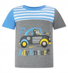 Купить футболка kiki kids пират, цвет: серый ( id 8226403 )