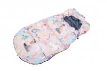 """Купить зимний конверт в коляску mammie """"мечты принцессы"""", розовый mammie 997026889"""
