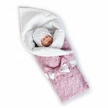 Купить комплект на выписку нежность slingme, цвет: розовый комбинезон/одеяло/шапка/снуд/бант 90 х 90 см ( id 12797998 )