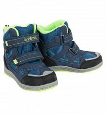 Купить ботинки twins, цвет: синий ( id 9756765 )