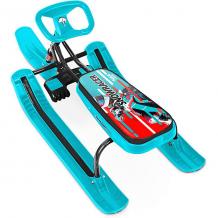 "Купить снегокат nika-kids ""тимка спорт 1"" snowracer, бирюзовый 10057740"