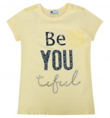 Купить футболка tuffy, цвет: желтый ( id 9890772 )