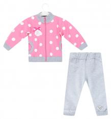 Купить комплект жакет/брюки gamex, цвет: серый/розовый ( id 8232961 )