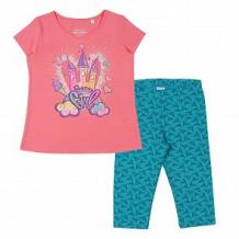 Купить комплект футболка/бриджи cherubino, цвет: розовый ( id 12580618 )