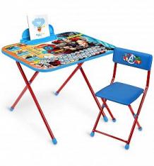 Купить набор мебели nika kids disney 5 мстители, цвет: синий/красный ( id 9752607 )