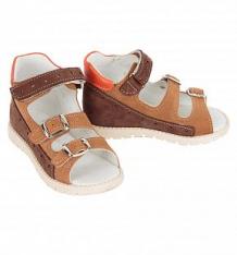 Купить сандалии скороход, цвет: коричневый ( id 8592199 )