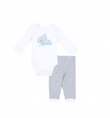 Купить комплект боди/брюки play today маленький брат, цвет: белый/серый 587808