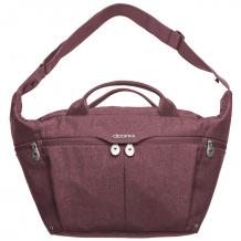 Купить сумка для мамы doona all-day cherry, цвет: бордовый doona 996964861