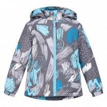 Купить куртка crockid, цвет: серый/бирюзовый ( id 11136434 )
