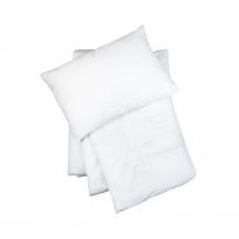 Купить комплект в кроватку сонный гномик одеяло и подушка лебяжий пух 061
