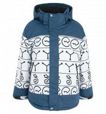 Купить куртка dudelf, цвет: синий/серый ( id 9244327 )